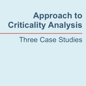 criticality analysis white paper